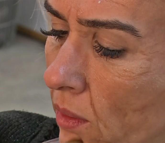 Tatá Werneck passa por processo de envelhecimento em 'Haja Coração' (Foto: TV Globo)