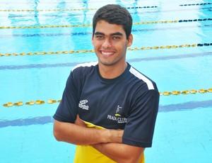 Alexandre Silva Vieira, técnico de natação do Praia Clube (Foto: Leandro Mendes/Divulgação)
