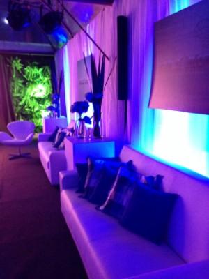 Decoração pronta para a festa (Foto: Luísa Konescki/RBS TV)