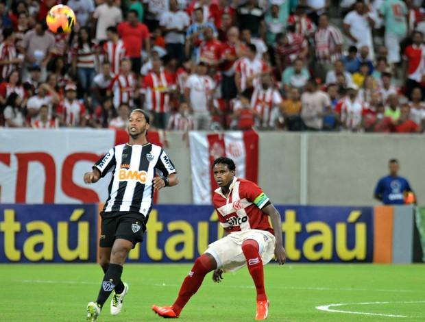 Náutico x Atlético-MG (Foto: Aldo Carneiro/ Pernambuco Press)