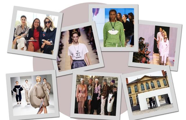 A sexta-feira do Vogue team em Paris (Foto: Arte Vogue Online)
