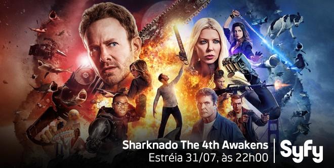 Sharknado 4 (Foto: Sharknado 4)