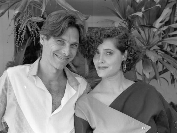 Eduardo Tornaghi (Rafael) e Christiane Torloni (J Penteado) (Foto: Acervo Globo)