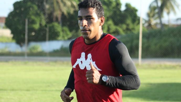 Tiago Dutra - volante do América-RN (Foto: Canindé Pereira/América FC)