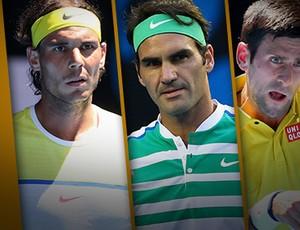 BLOG: Trio de Ferro do tênis soma apenas dez derrotas em estreias de Grand Slam