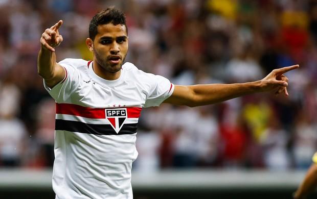 Alan Kardec gol São Paulo x Botafogo (Foto: Getty Images)