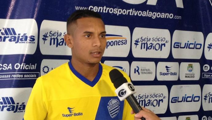 Bruno Santa Rosa, CSA (Foto: Jota Rufino/GloboEsporte.com)