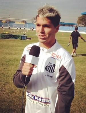 Patito (Foto: Divulgação / Santos FC)