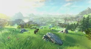 Mundo de novo 'Zelda' será vasto e livre para a exploração (Foto: Divulgação/Nintendo)