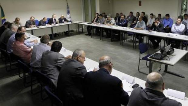 Reunião Série B CBF  (Foto: Rafael Ribeiro/CBF)