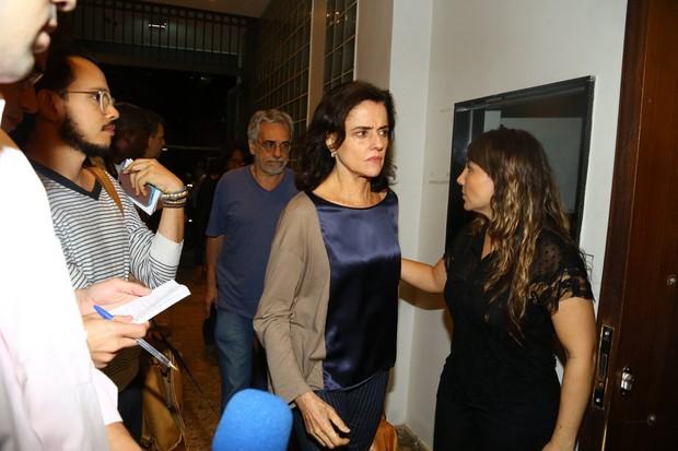 Marieta Severo e Aderbal Freire Filho (Foto: Marcello Sá Barretto / AgNews)