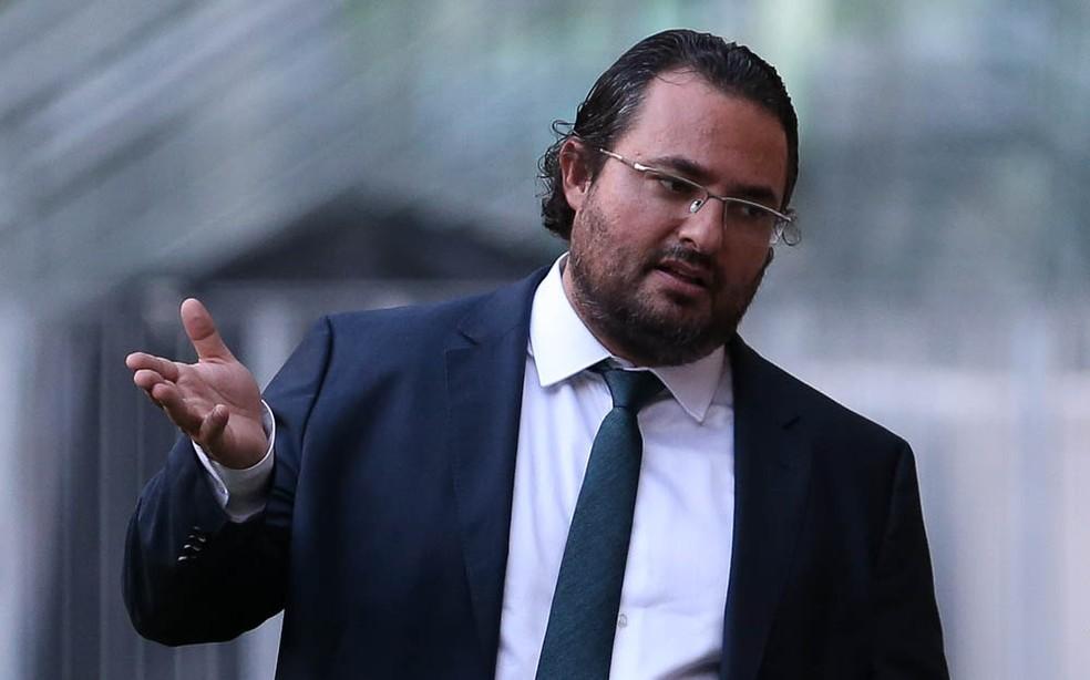 Alexandre Mattos, diretor executivo do Palmeiras (Foto: César Greco / Ag. Palmeiras / Divulgação)