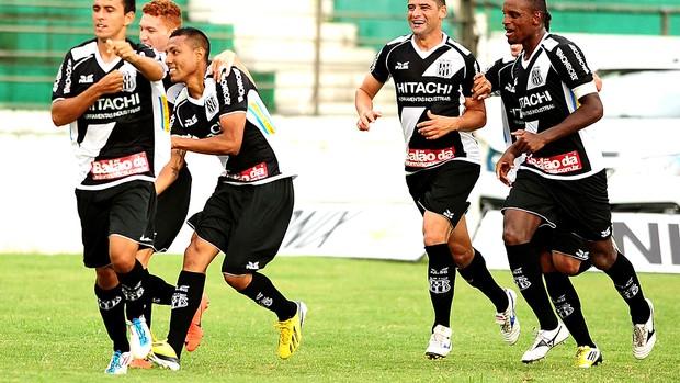 Ramírez comemora gol no dérbi (Foto: Marcos Ribolli/ Globoesporte.com)