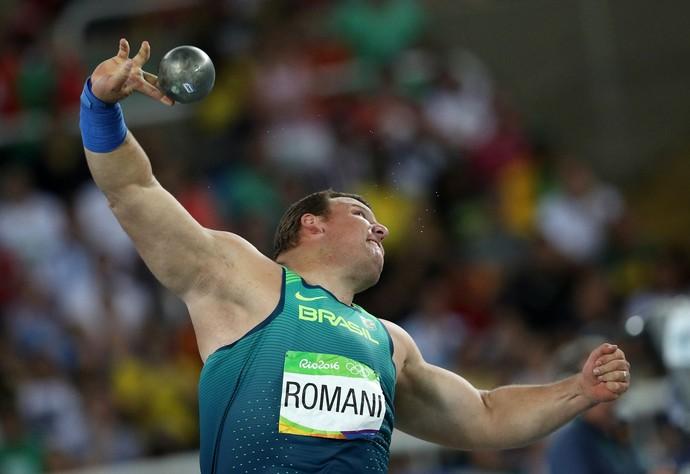 Darlan Romani na Olimpíada (Foto: Reuters)
