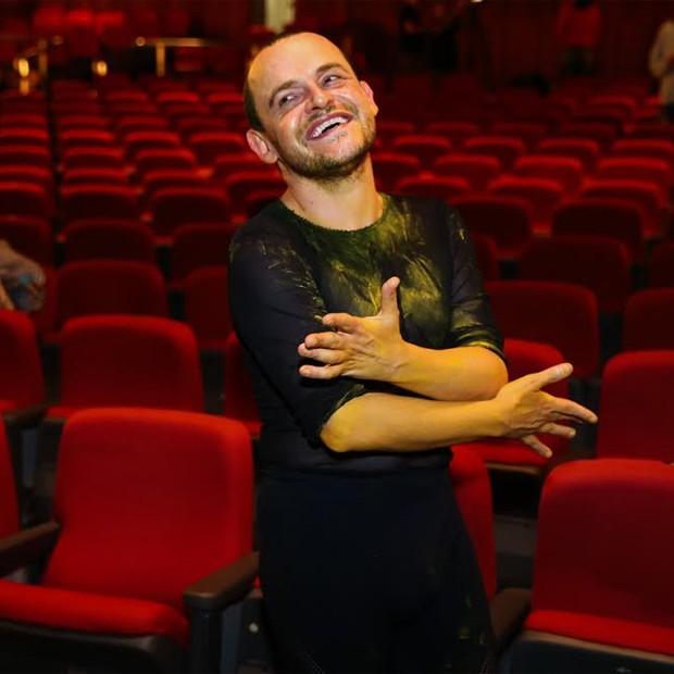 Matheus Nachtergaele, protagonista da peça (Foto: Manuela Scarpa / Brazil News)