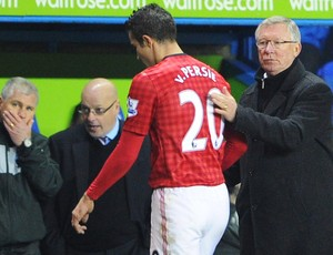 Van Persie Alex Ferguson manchester united (Foto: Getty Images)