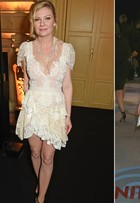 Kirsten Dunst repete o look 13 anos depois