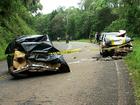 Mulher morre, e filho fica ferido em acidente na PR-447, em Cruz Machado
