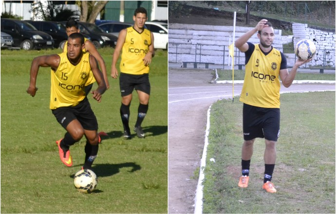 Willian e Douglas (Foto: Sidney Magno Novo/GloboEsporte.com)