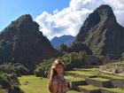 Lívia Andrade comemora aniversário em Machu Picchu, no Peru