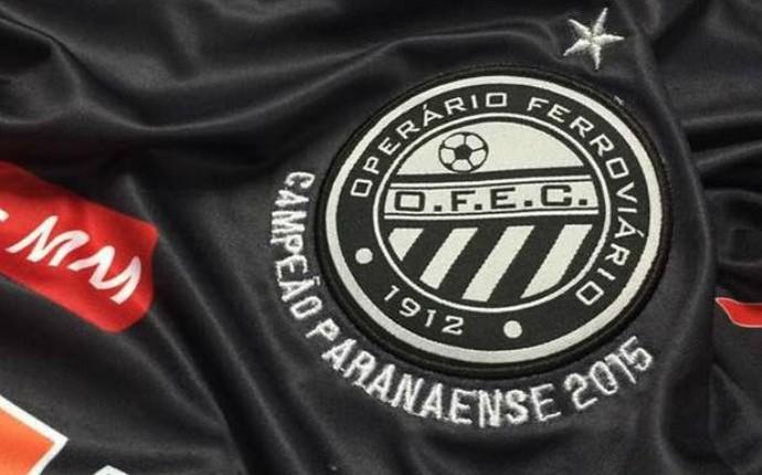 camisa comemorativa operário-pr (Foto: Divulgação/Operário-PR)