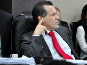 Ex-governador de Mato Grosso Silval Barbosa (PMDB) deixou prisão para depor à CPI na última terça-feira (6). (Foto: Renê Dióz / G1)