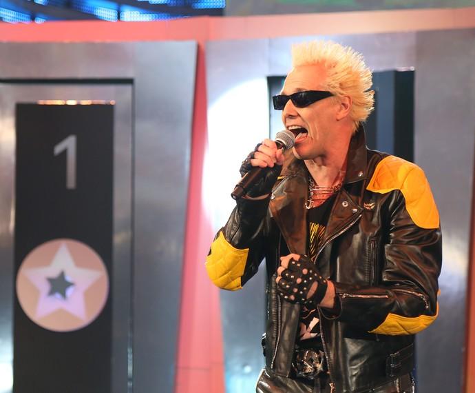 Supla e todo o seu rock no 'Ding Dong' (Foto: Carol Caminha/Gshow)