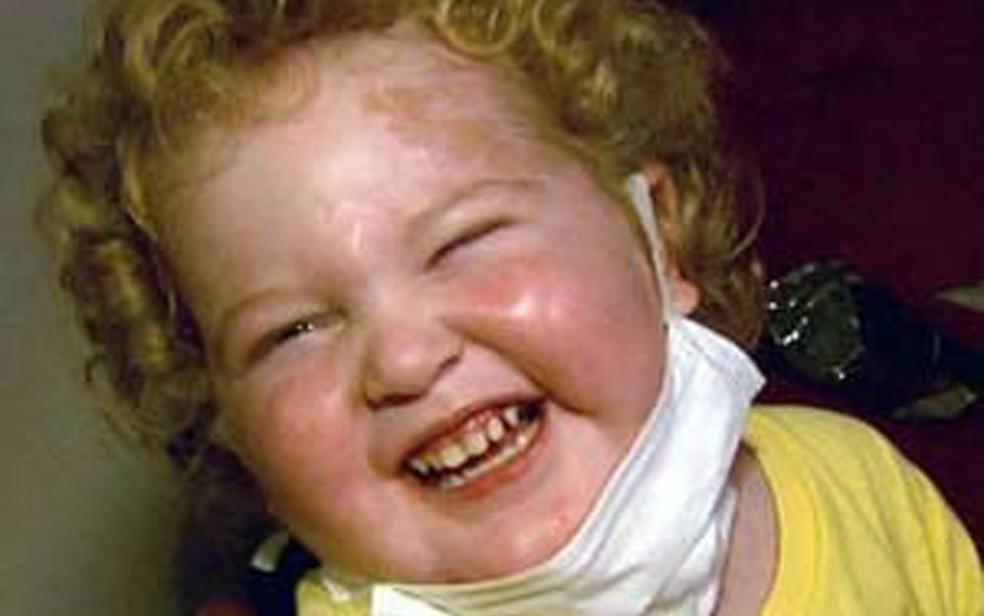 Gabriel tinha síndrome rara e morava em Campo Belo; morreu aos 4 anos com uma pneumonia (Foto: Reprodução/EPTV)