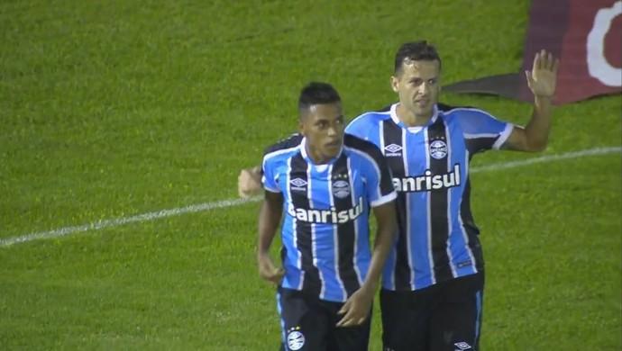 Pedro Rocha atacante Grêmio (Foto: Reprodução)