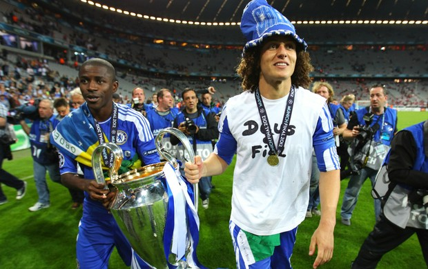 Ramires David Luiz Chelsea (Foto: Getty Images)
