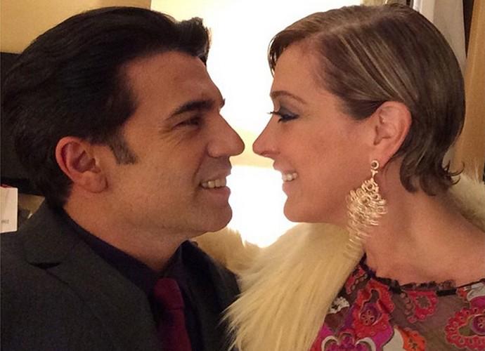 Em rede social, Jarbas Homem de Mello faz declaração de amor para Claudia Raia (Foto: Arquivo Pessoal)