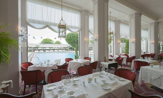 O salão do Cipriani, no Copacabana Palace