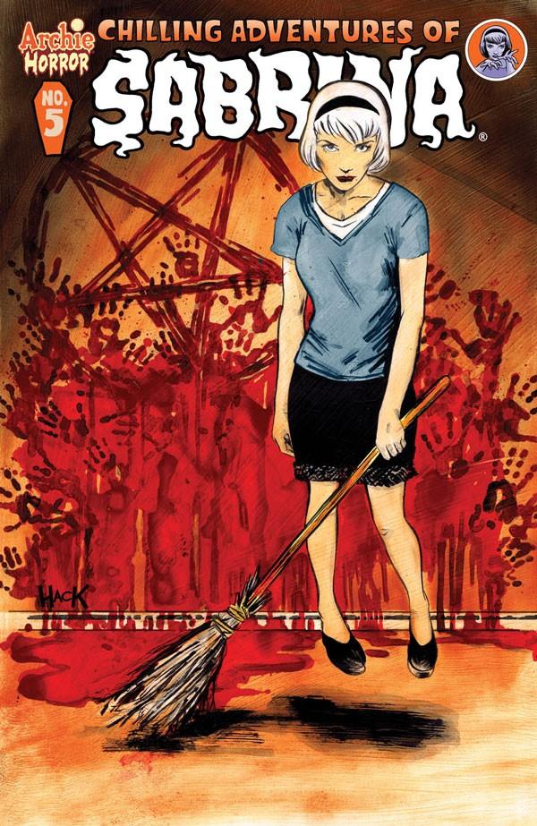 A capa da HQ Chilling Adventures of Sabrina (Foto: reprodução)