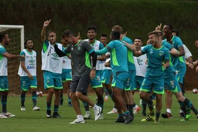 Chapecoense apresenta (Foto: Sirli Freitas/Chapecoense)