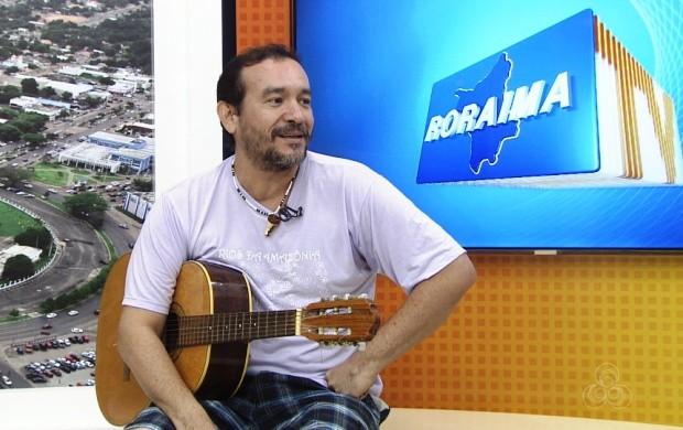 Ben Charles participa do projeto 'Kafundo' (Foto: Roraima TV)
