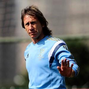 Ricardo Gareca técnico treino Palmeiras (Foto: Marcos Ribolli / Globoesporte.com)