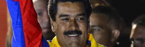 Maduro é eleito presidente da Venezuela (Maduro é eleito presidente da Venezuela  (Luis Acosta/AFP))