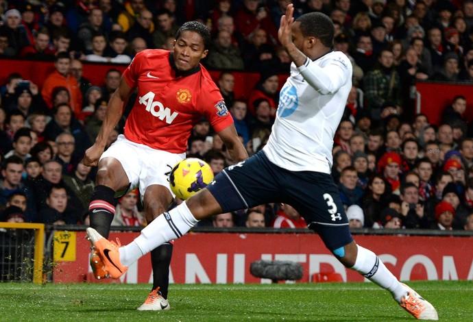 Valencia e Rose Manchester United x Tottenham (Foto: Reuters)