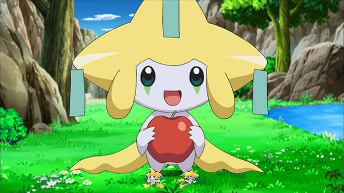 Com estilo fofo, Jirachi era um lendário que realizava desejos em Pokémon Ruby & Sapphire (Foto: Reprodução/Rafael Monteiro)