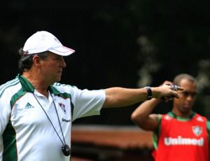 Abel e Leandro Euzébio, Fluminense (Foto: Nelson Perez / Fluminense. F.C.)