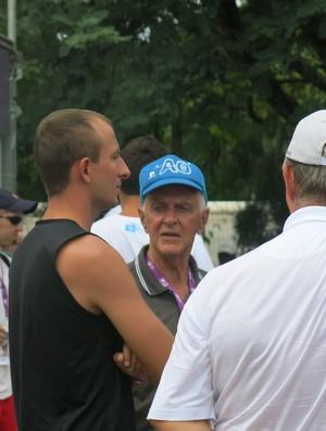 Ramez Haddad, avô da tenista Bia Haddad (Foto: Marcelo Silva)