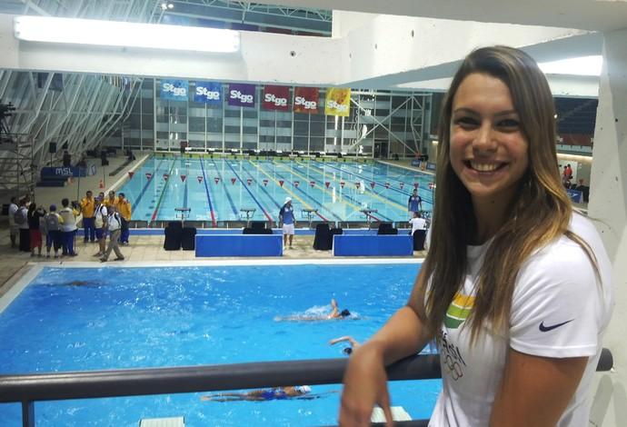 Alessandra Marchioro natação (Foto: Gabriel Fricke)