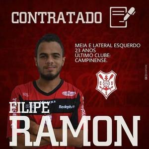 Filipe Ramon, Sergipe (Foto: Divulgação/CSS)