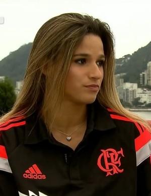 Jade Barbosa Ginástica (Foto: Reprodução SporTV)