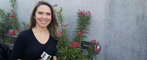 Conheça a jornalista Mirella Lopes, nova repórter da Inter TV Cabugi (Jocaff Souza/Inter TV Cabugi)