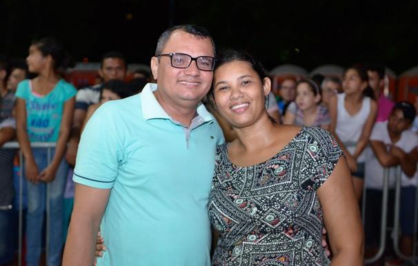 Declaração de amor no meio do Festival também chamou atenção do público (Foto: Rede Clube)