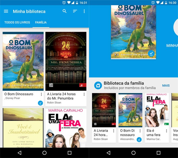 Google Play agora deixa você emprestar livros e filmes