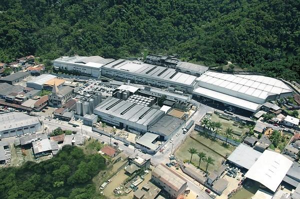 Imagem aérea da fábrica da Therezópolis