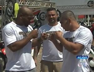Estrelas do 2º Selva MMA estão  no Acre para evento deste domingo (Foto: Reprodução/TV Acre)