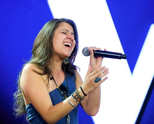 Carla Casarim The Voice Brasil (Foto: Isabella Pinheiro/ Gshow)